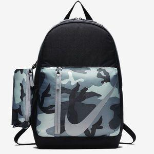 Nike Elemental Backpack Camo Grey Unisex